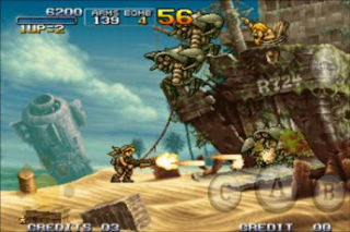 Game metal slug 3 bluetooth cho android